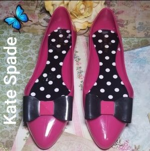 NWOT Kate Spade Jelly Ballerina Shoes